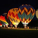 Light up the night!  Glowing the balloons! 605 views! by Linda Jackson