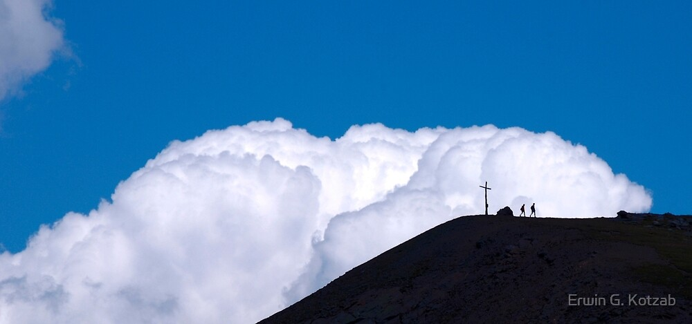 a walk in the clouds by Erwin G. Kotzab