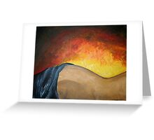 warming touch. Greeting Card