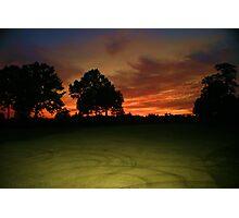 Circular Sunrise Photographic Print