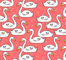 Swans by Andrea Lauren  by Andrea Lauren