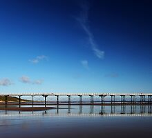 Twin Piers by PaulBradley
