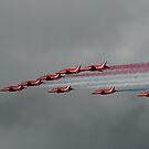 Red Arrows by Chris  Munday