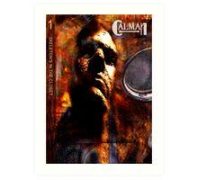 CALMAN COVER Art Print