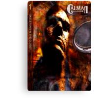 CALMAN COVER Canvas Print
