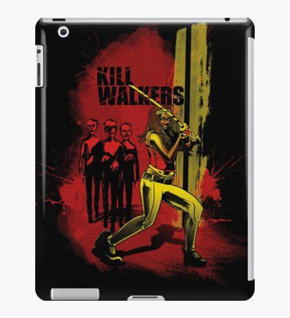 Kill Walkers  iPad Case/Skin