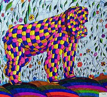 265 - ALL THINGS BIG AND BEAUTIFUL - DAVE EDWARDS - FINELINER PENS - 2009 by BLYTHART