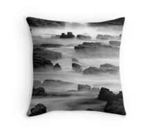 Soft foreshore Throw Pillow