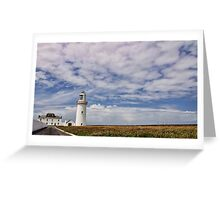 loop head lighthouse, county clare, ireland Greeting Card