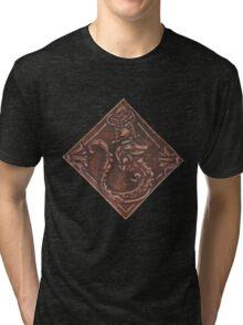 Sobek in Leather Tri-blend T-Shirt