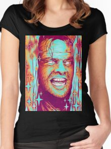 The Shining  Women's Fitted Scoop T-Shirt