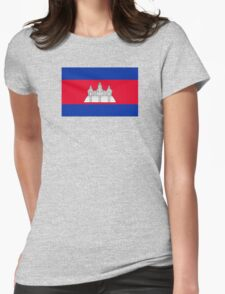 Cambodia - Standard Womens Fitted T-Shirt