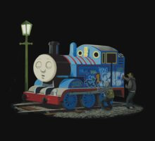 Banksy Thomas The Tank Engine Kids Clothes