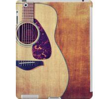 Guitar Portrait iPad Case/Skin