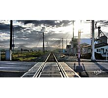 Rails to Paradise Photographic Print