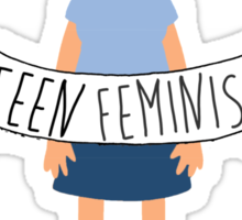 Tina - Teen Feminist Sticker