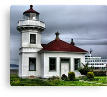 Mukilteo Lighthouse Two Canvas Print