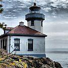 Lime Kiln Lighthouse by Rick Lawler