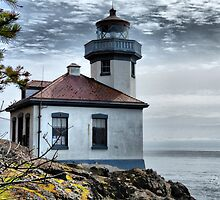 Lime Kiln Lighthouse by Rick Lawler