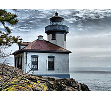 Lime Kiln Lighthouse Photographic Print