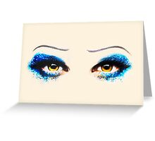 Darren is Hedwig - Eyes Greeting Card