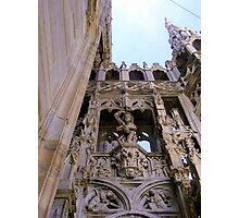 Duomo di Milano - side details Photographic Print