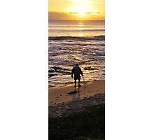Beach Comber Photographic Print