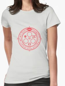 The Halo of the Sun Womens Fitted T-Shirt