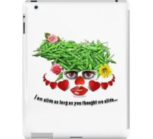 I AM ALIVE iPad Case/Skin