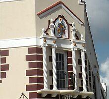 Corner Balcony by Rosalie Scanlon