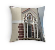 Corner Balcony Throw Pillow