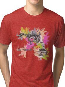 Misterwives Watercolor Tri-blend T-Shirt
