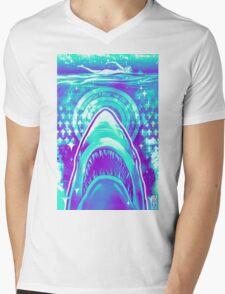Jaws  Mens V-Neck T-Shirt