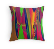 Psychedelic Tapestry Throw Pillow