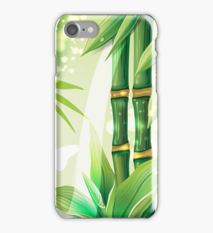 Bamboo Plants iPhone Case/Skin