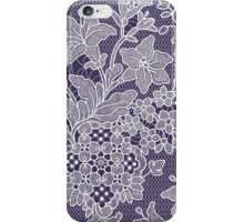 Lilies. Pattern. Lace. iPhone Case/Skin