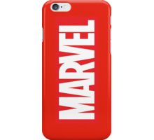 Marvel Logo iPhone Case/Skin