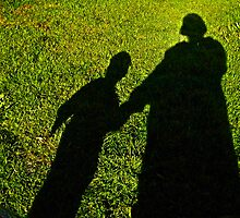 Mommy and child shadow fun  by mandyemblow