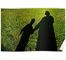 Mommy and child shadow fun  Poster