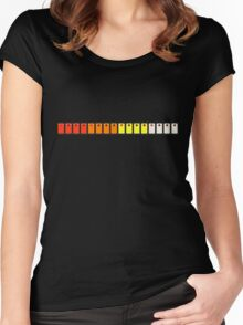 808 Drum Switches Women's Fitted Scoop T-Shirt