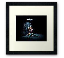 Alice in Urbanland Framed Print