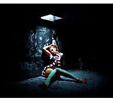 Alice in Urbanland Photographic Print