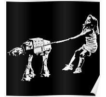 Banksy Star Wars Poster