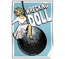 Wrecking Doll (blue) Poster