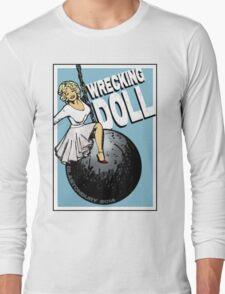 Wrecking Doll (blue) Long Sleeve T-Shirt