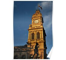 Bendigo's Old Post Office, Clock Tower Poster