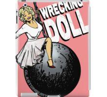 Wrecking Doll (pink) iPad Case/Skin