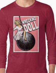 Wrecking Doll (pink) Long Sleeve T-Shirt