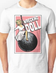 Wrecking Doll (pink) Unisex T-Shirt