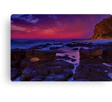 """""""Morning Below The Bluff"""" Canvas Print"""